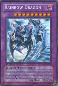 Elemental Hero Chaos Neos com o nome trocado para Rainbow Dragon!